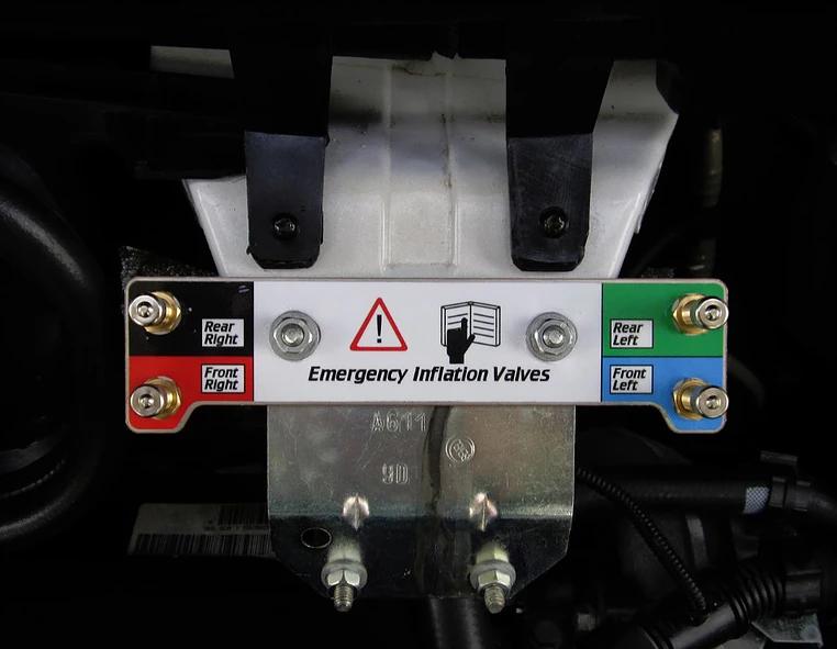 Блок аварийных клапанов Emergency Inflation Valves