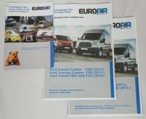 Комплект документации для комфортного комплекта EuroAir