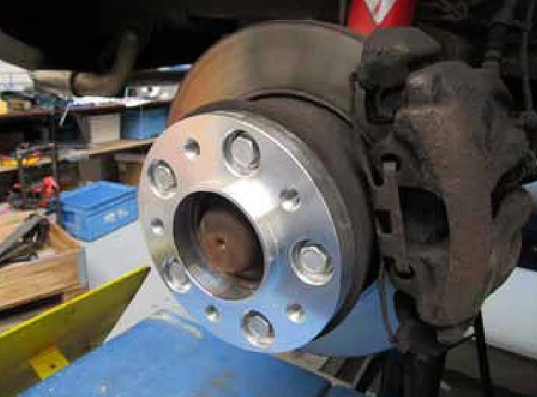 Проставки на тормозные диски для VB CoilSpring (Merceds Sprinter Classic)