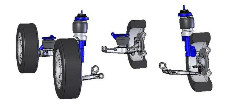 Пневмоподвеска VW T6 VB-FullAir 4C