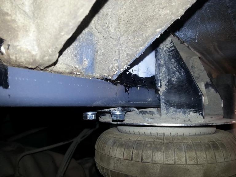 Усилители лонжеронов для MB Sprinter 3.5t Extra Long и VW Crafter 35 Extra Long